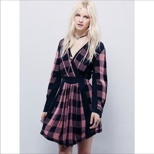 Free people romantics - journey plaid dress